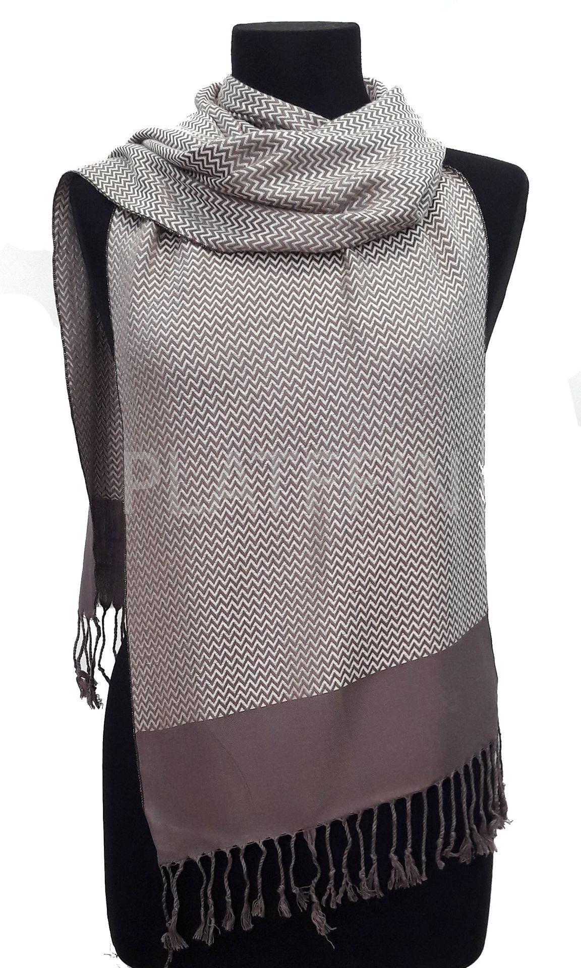 1650 шарф-кашне мужской зигзаг ebbcb7b9b9e